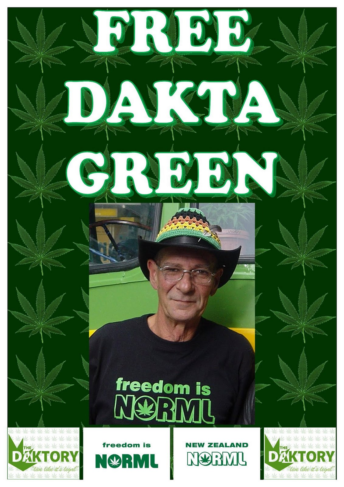 Free Dakta Green