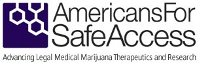 Americans for Safe Access The largest national member-based organization of patients, medical professionals, scientists and concerned citizens promoting safe and legal access to cannabis for therapeutic use and research (…)