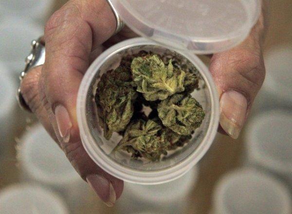 Il y a un an, 46% s'étaient déclarés favorables à la légalisation de cette drogue. © KEYSTONE