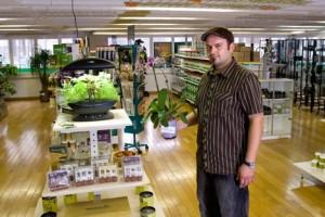 24 Heures - Marius Affolter - Robert Hurter, le patron du magasin HH à Lausanne